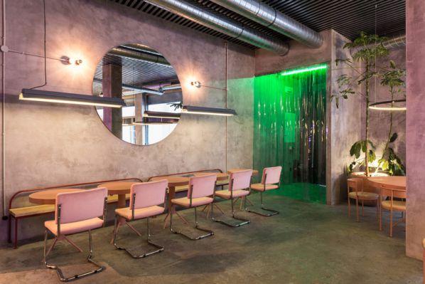 未来餐厅办公室装修设计的打造
