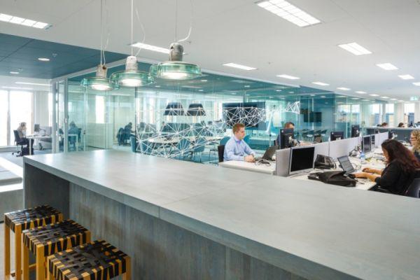 办公室装修设计改造的新能源公司
