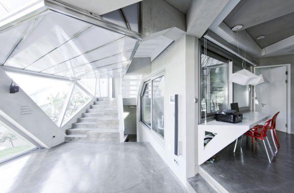简约清新的办公室装修风格的特点