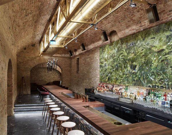 办公室装修设计之翻新改造地下酒吧