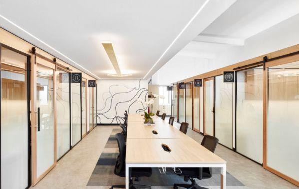 办公室装修设计的联合办公创意中心
