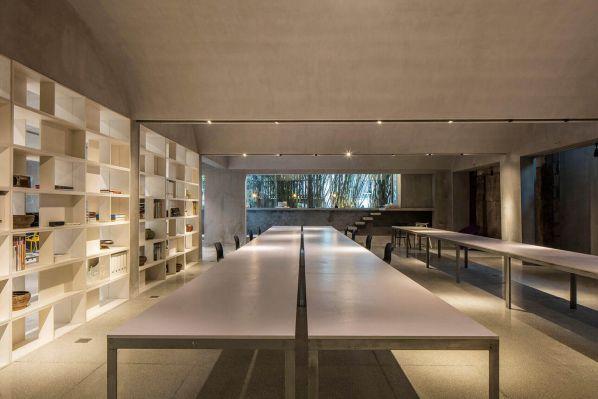 新办公室装修设计之上海建筑的改造