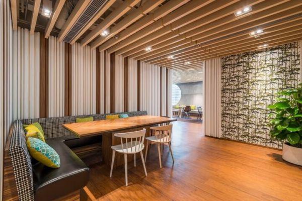 高大上的上海办公室装修的空间打造