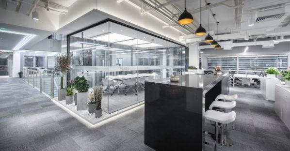 金融科技总部办公室装修设计的新形式