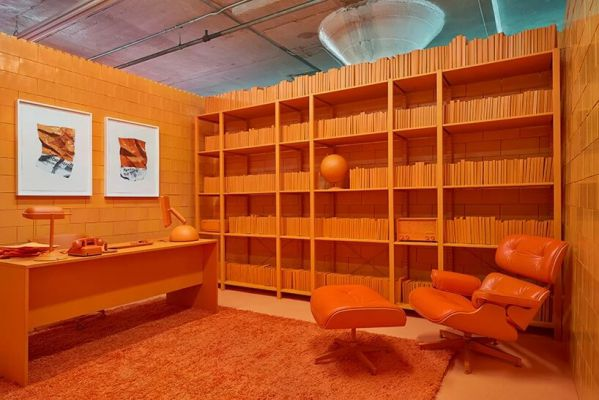 办公室装修设计之疯狂单色系列展