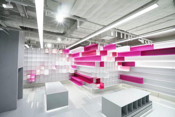 办公室装修设计之多维度空间体验