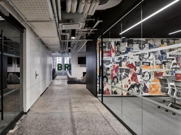 开放式办公室装修设计协作型