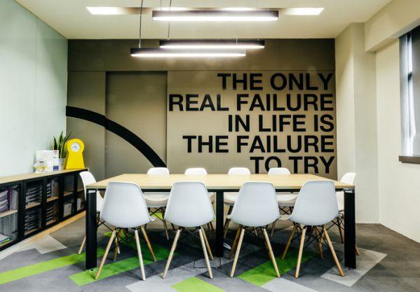 办公室装修设计的现代风格办事处