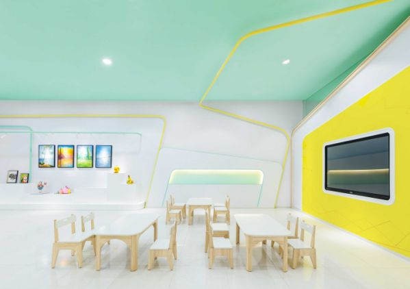办公室装修设计教育机构的灵感