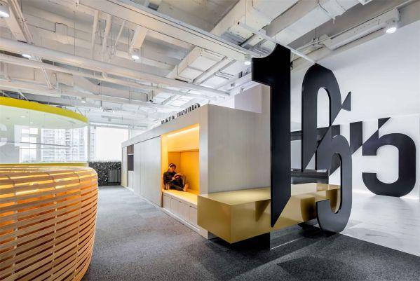 新媒体办公室装修设计的形式