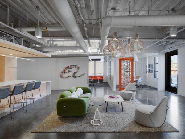 阿里巴巴办公室装修设计的灵活性