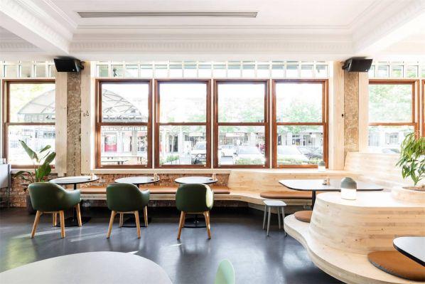 办公室设计中传统和现代结合