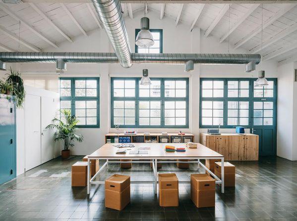 品牌总部的办公室设计和装修