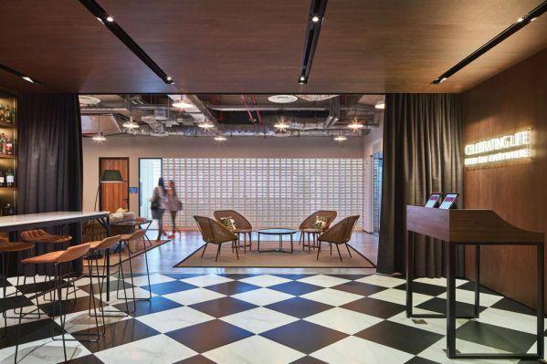 办公室装修关于新办公文化的展现