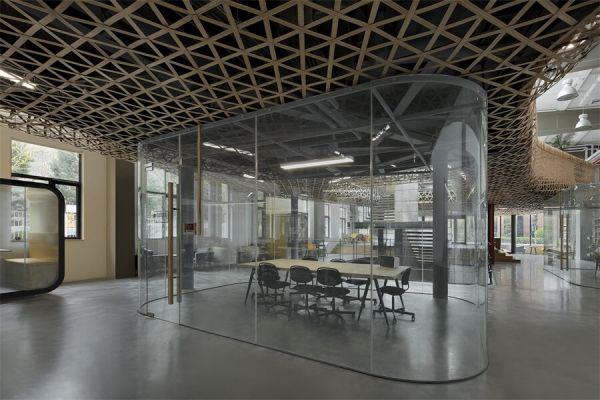 马蜂窝办公室装修的二期改造项目