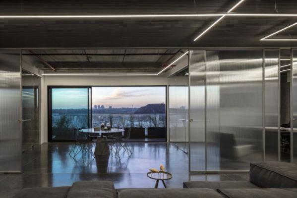 办公室装修的人性化的动态空间