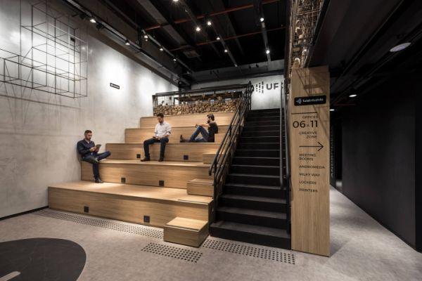 上海办公室装修在部分行业中的差距