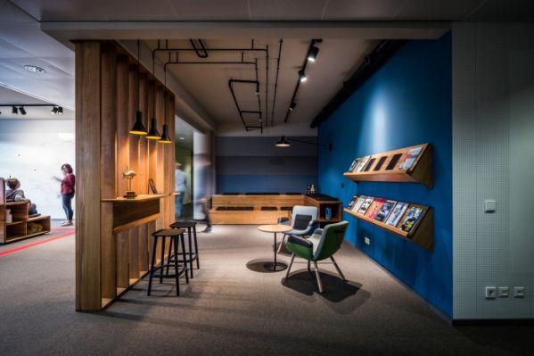 现代风格办公室装修的灵活性