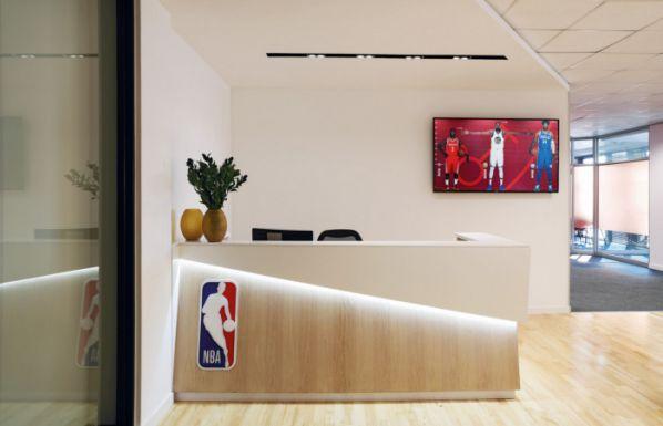 办公室装修打造的NBA特色风格