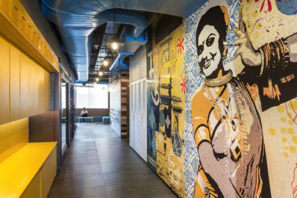 办公室设计中色彩搭配非常讲究