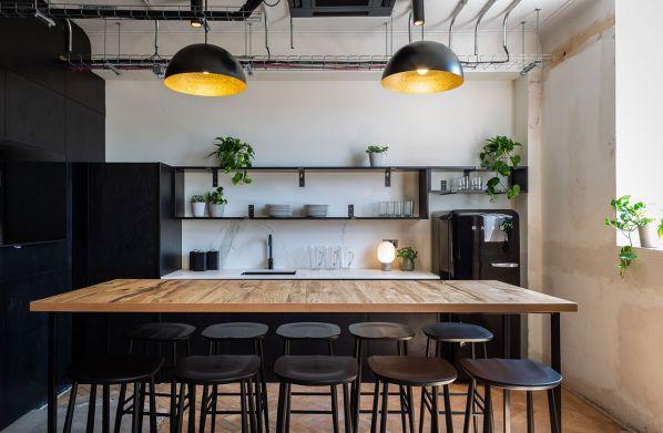 办公室装修之印刷厂改造社交空间