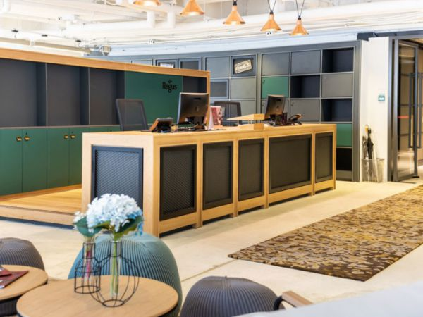 联合办公室装修打造的包豪斯风格