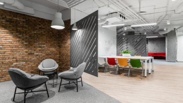 混搭风的办公室装修空间形式