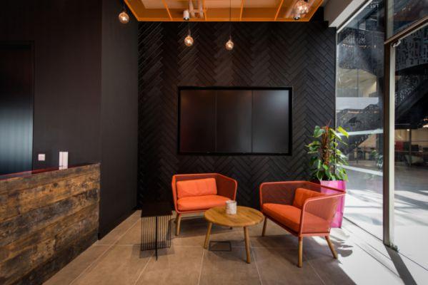 办公室装修打造的软件公司总部