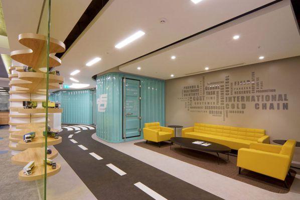 物流公司办公室装修采用装修模式