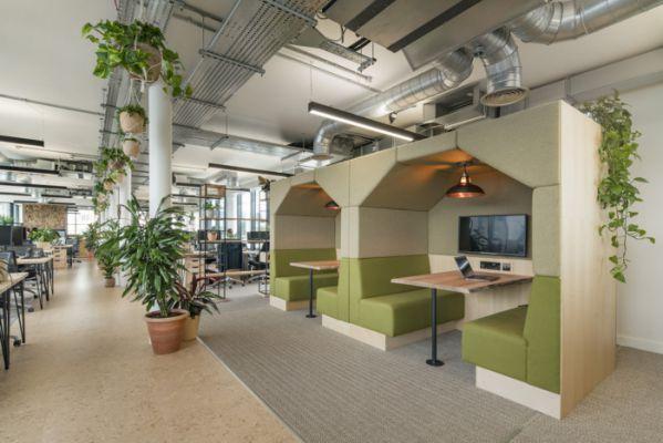豪华旅游公司的新办公室装修