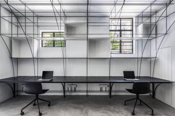 极简主义的办公室装修改造项目