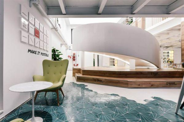 联合办公室装修的空间改造设计项目