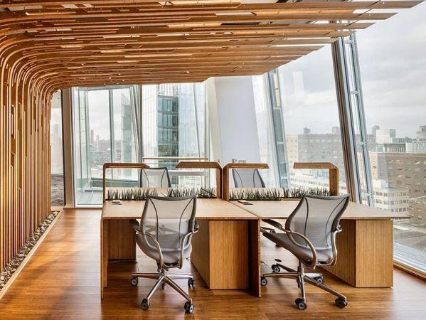 设计公司办公室装修迈出的实验性一步