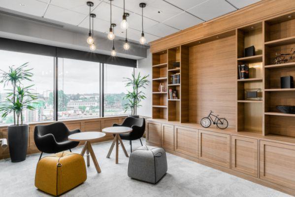 办公室设计需要有合理的布局方案