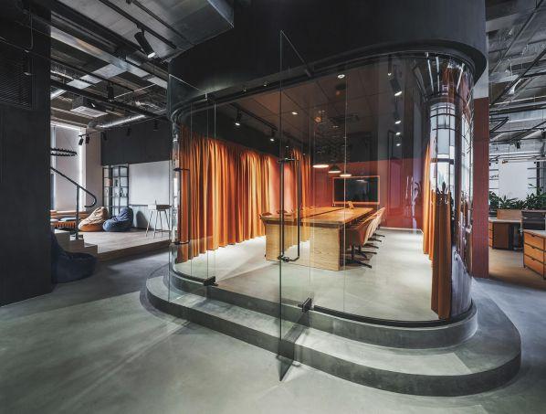 智能办公室装修采用的包豪斯风格