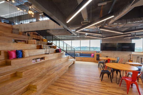 办公室设计中地板该如何选择