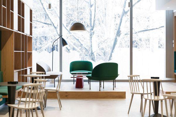 现代风格办公室装修的理想工作场所