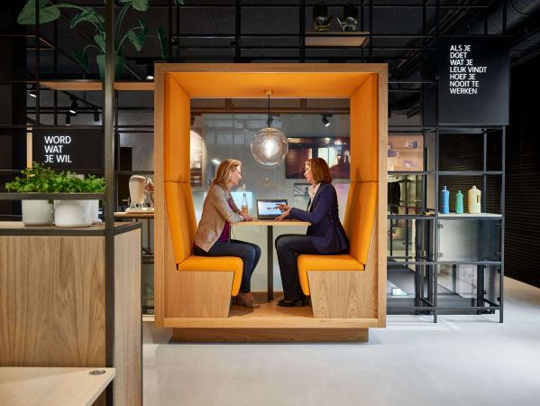 工业风格的办公室设计有什么特点