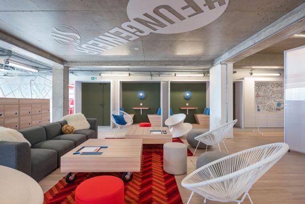 办公室设计中合理的颜色搭配很重要