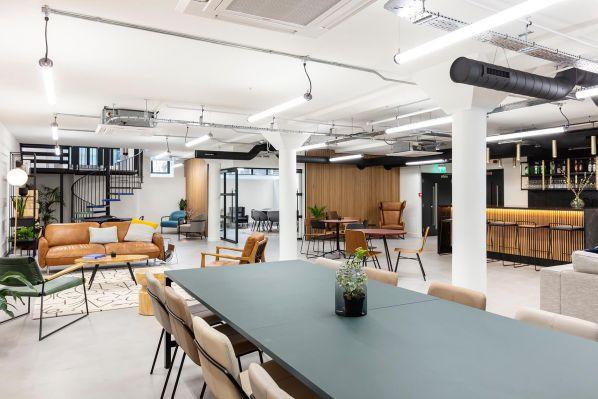 现代简约风格办公室设计所具备的特点