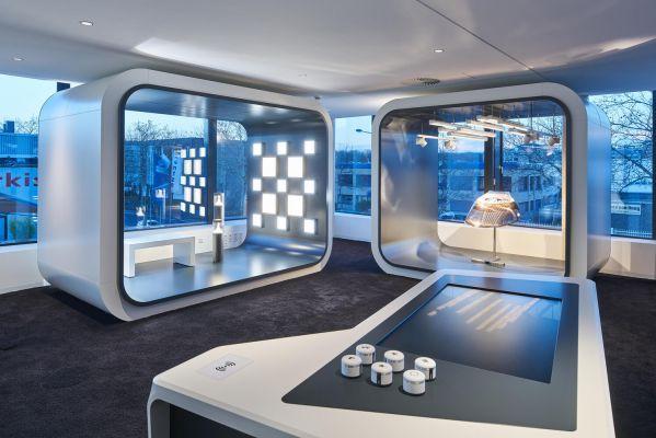 灯具集团总部的办公室装修和设计