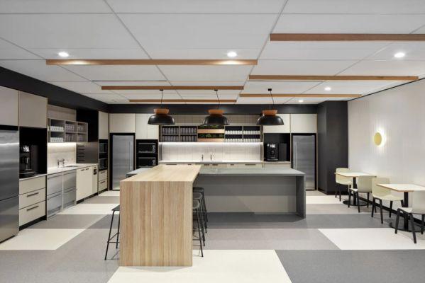 墨尔本富士通的办公室设计新技术