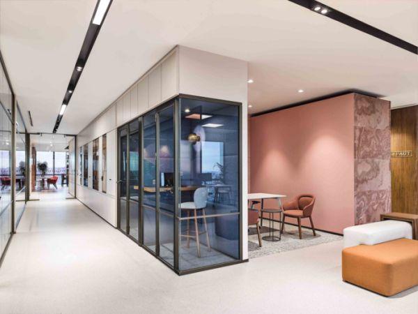 大型公司采用哪些办公室装修设计风格
