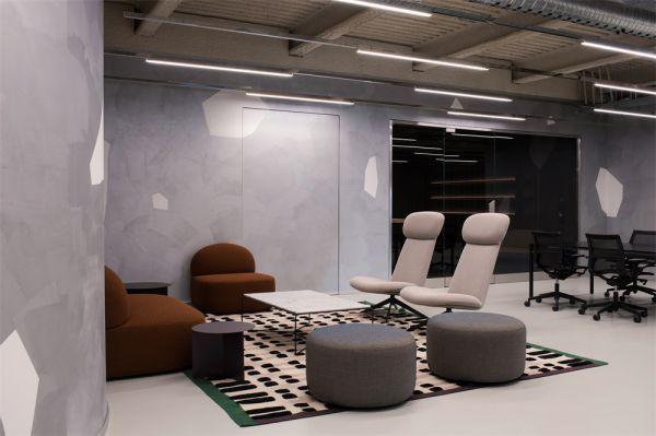 销售公司办公室设计的联合办公空间