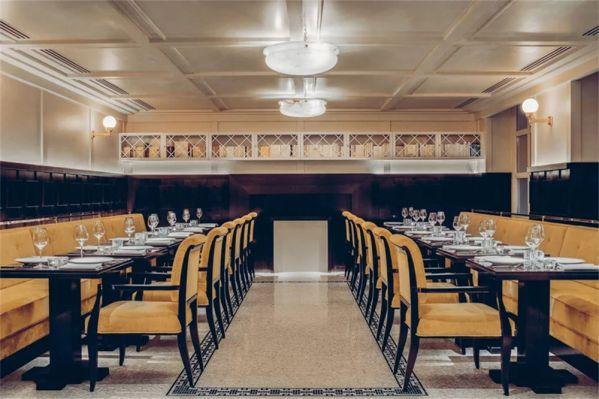 办公室设计打造的装饰艺术餐厅案例