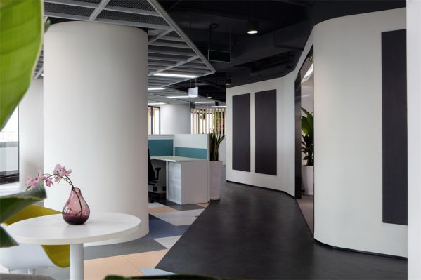 公司时尚办公室设计的主题展现
