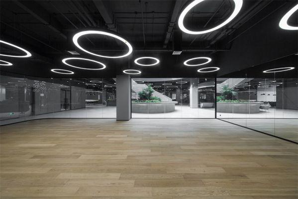 汽车生产基地办公室设计的全新办公生活方式