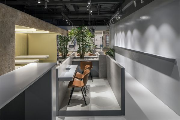 毛发科技办公室设计的空间属性