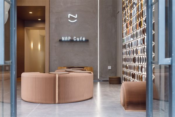 网红咖啡店的办公室设计突出的设计理念