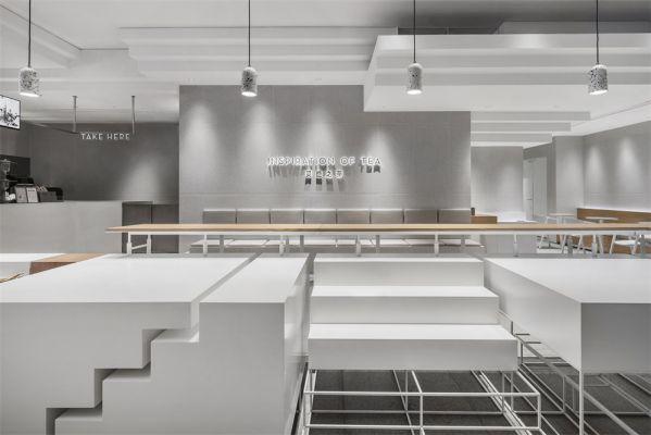 餐饮空间办公室设计之喜茶店
